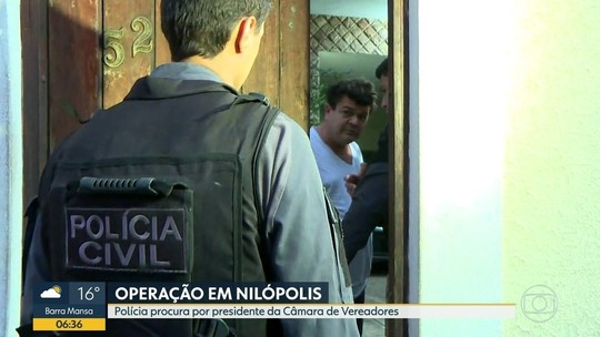 Presidente da Câmara de Nilópolis é preso no RJ