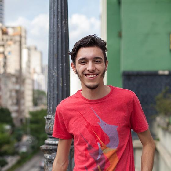 DAVI ANDRADE RODRIGUES 16 anos Etec São Mateus São Paulo, SP (Foto: Tuca Vieira e Joel Rocha)