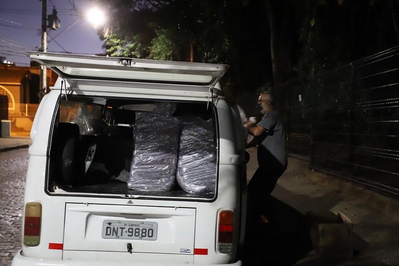 Com previsão de mínima de 4º C,  Campinas intensifica busca ativa por moradores em situação de rua
