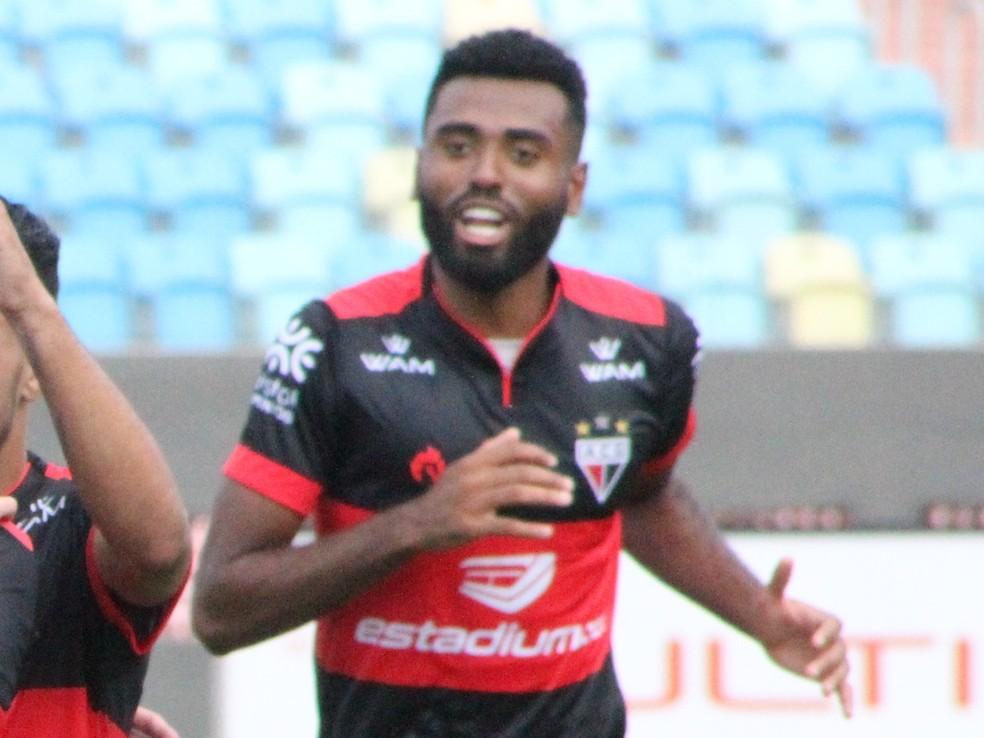 Caio Vinícius disputou oito partidas pelo Atlético-GO em 2019 — Foto: Divulgação / Atlético-GO