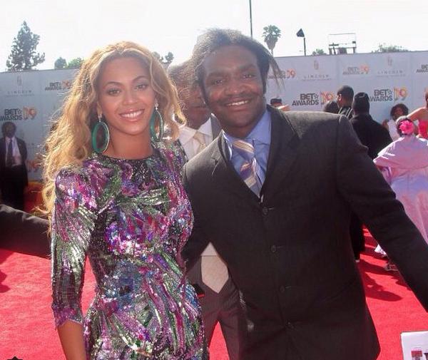 Terry Bryant com Beyoncé (Foto: Instagram)