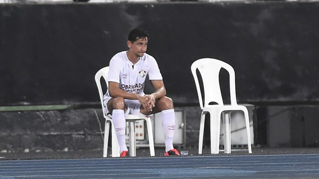 Ganso lamenta a derrota do Fluminense