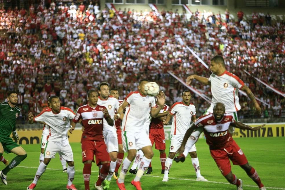 CRB x Boa Esporte, no Rei Pelé (Foto: Ailton Cruz / Gazeta de Alagoas)