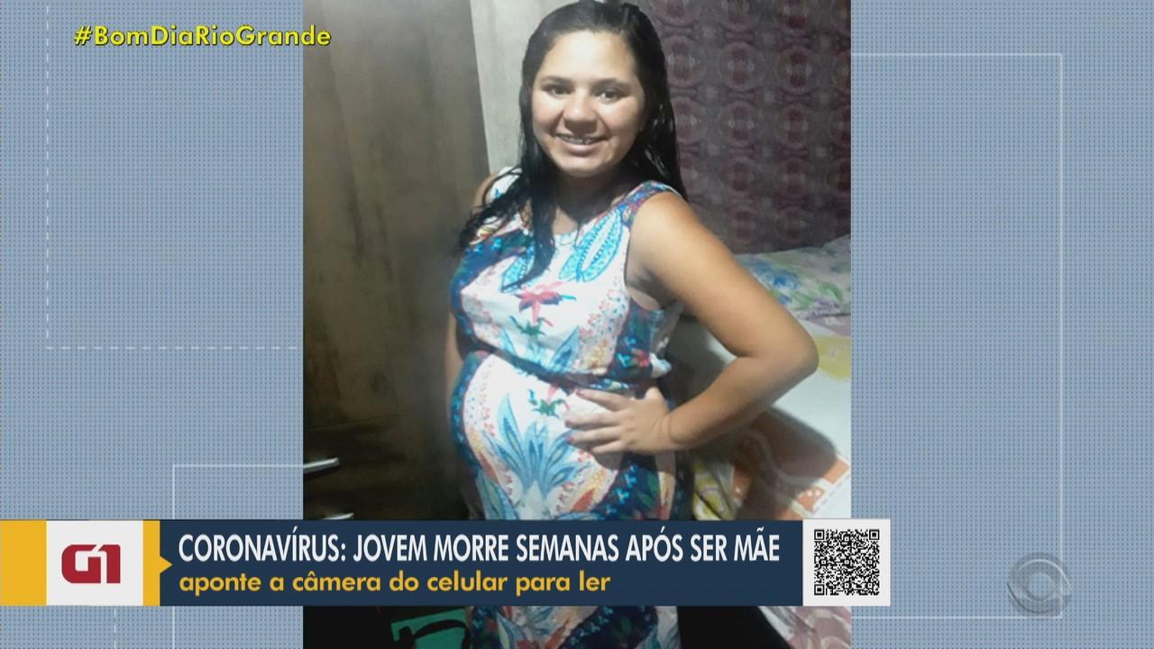 Jovem de 20 anos morre por Covid-19 semanas após dar à luz em Tenente Portela