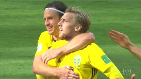 Suécia vence Suíça e tem a melhor participação em Copas em tempos