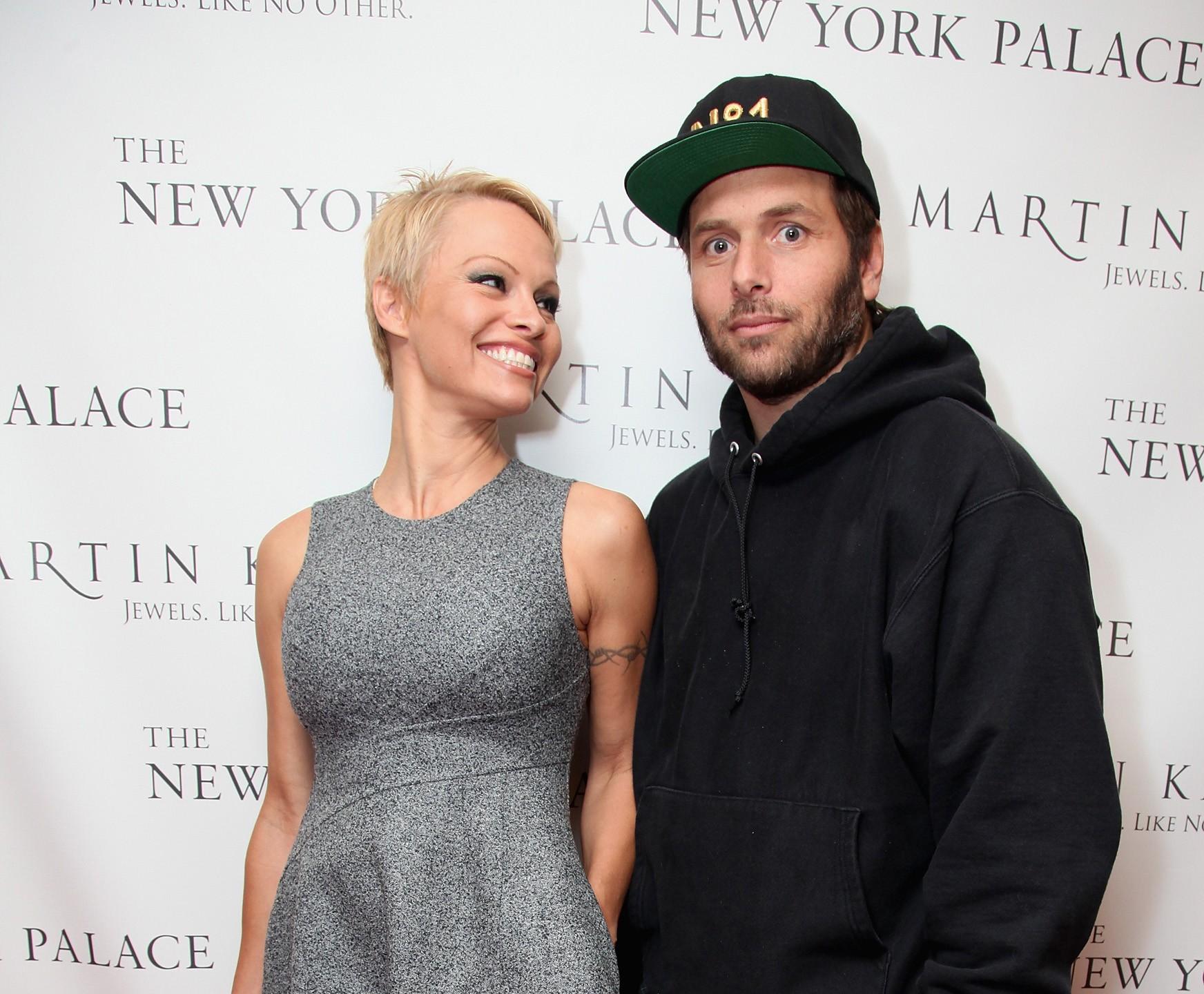 Pamela Anderson e Rick Salomon (Foto: Getty Images)