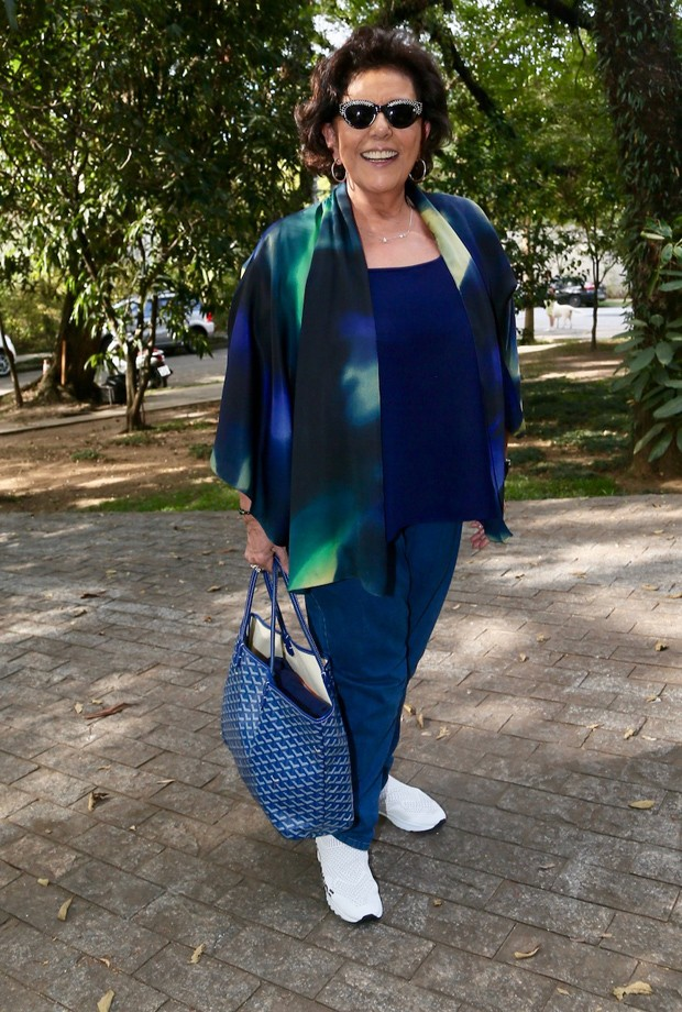 Leda Nagle (Foto: Brazil News / Manuela Scarpa)