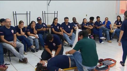 Samu treina mais de 30 socorristas em Ituiutaba