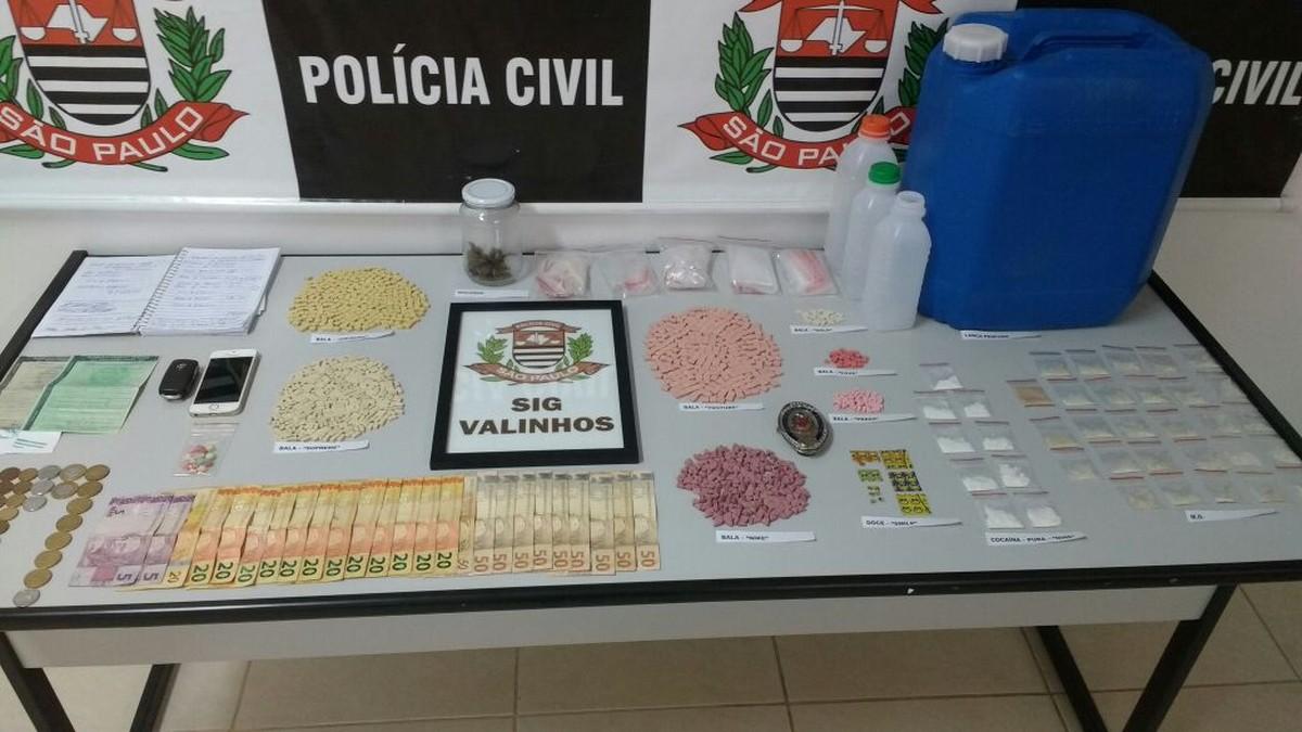 DJ de Valinhos que vendia drogas pelo WhatsApp é preso com R$ 120 mil em entorpecentes