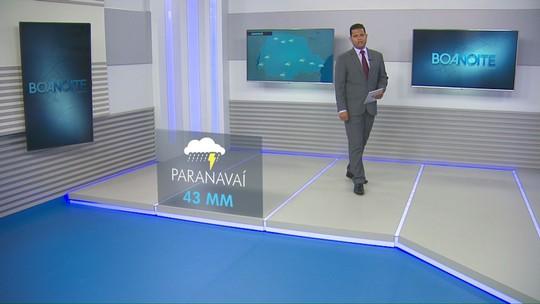 Em Paranavaí e Cianorte pode chover 43mm nesta terça-feira