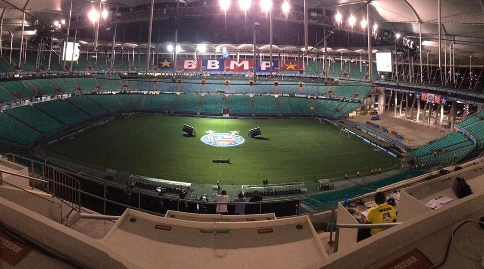 3893ee4d10f7a ... Arena Fonte Nova  Bahia x Atlético-PR — Foto  Divulgação EC Bahia