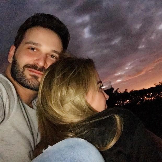 Zilu Camargo e Marco Antonio Ruggiero (Foto: Reprodução/Instagram)
