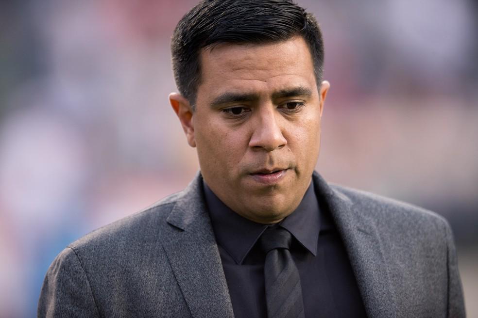 Treinador comanda a Bolívia desde 2018 — Foto: Kyle Ross/Getty Images