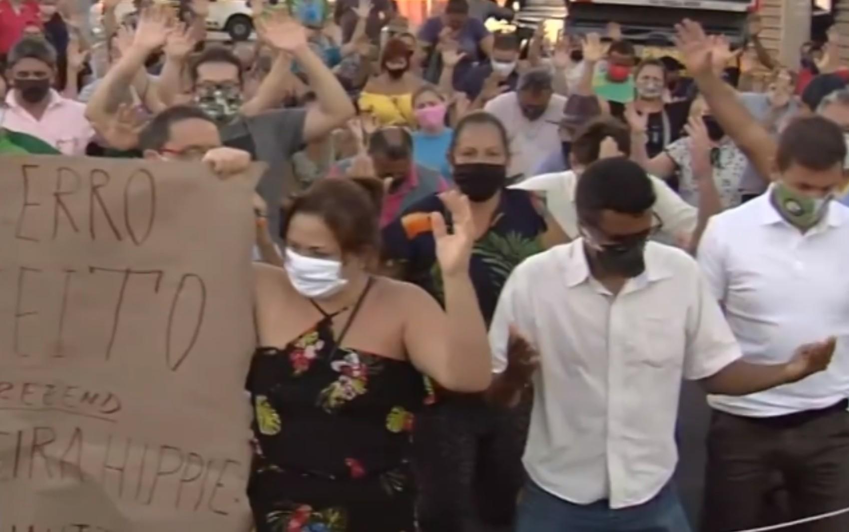 Após protestos, feira Hippie deve voltar a funcionar no próximo fim de semana, em Goiânia