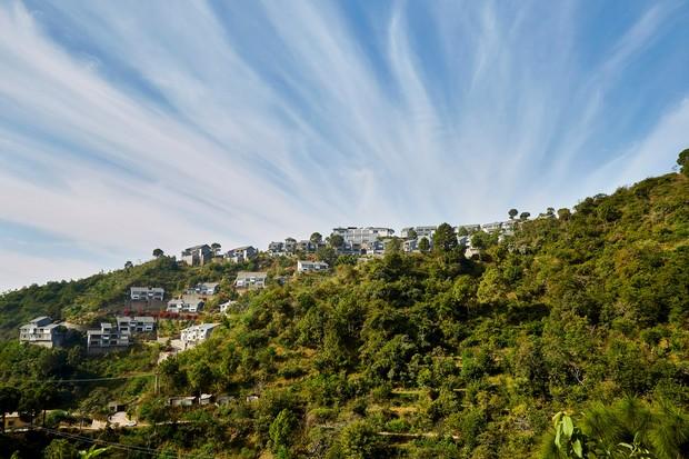 Woodside, a vila nas montanhas indianas (Foto: Reprodução/Archdaily)