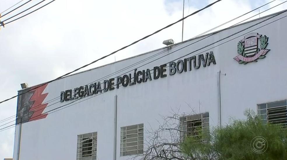 Caso foi registrado na delegacia de Boituva (SP) — Foto: Reprodução/TV TEM
