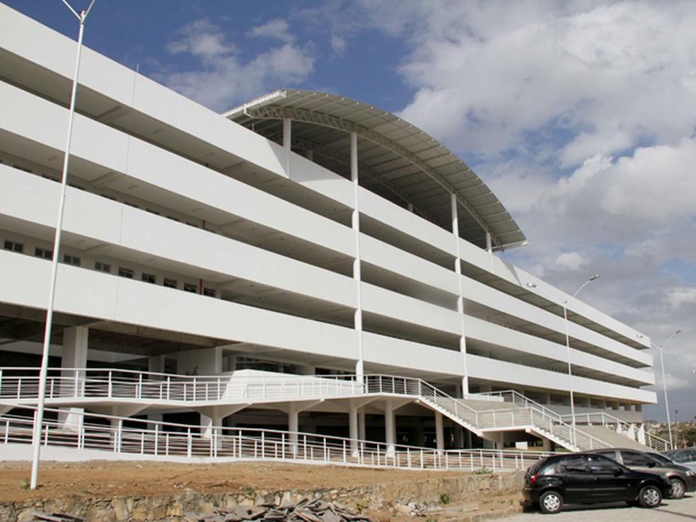 Central de Aulas da Universidade Estadual da Paraíba (UEPB) (Foto: Leonardo Silva/Jornal da Paraíba/Arquivo)