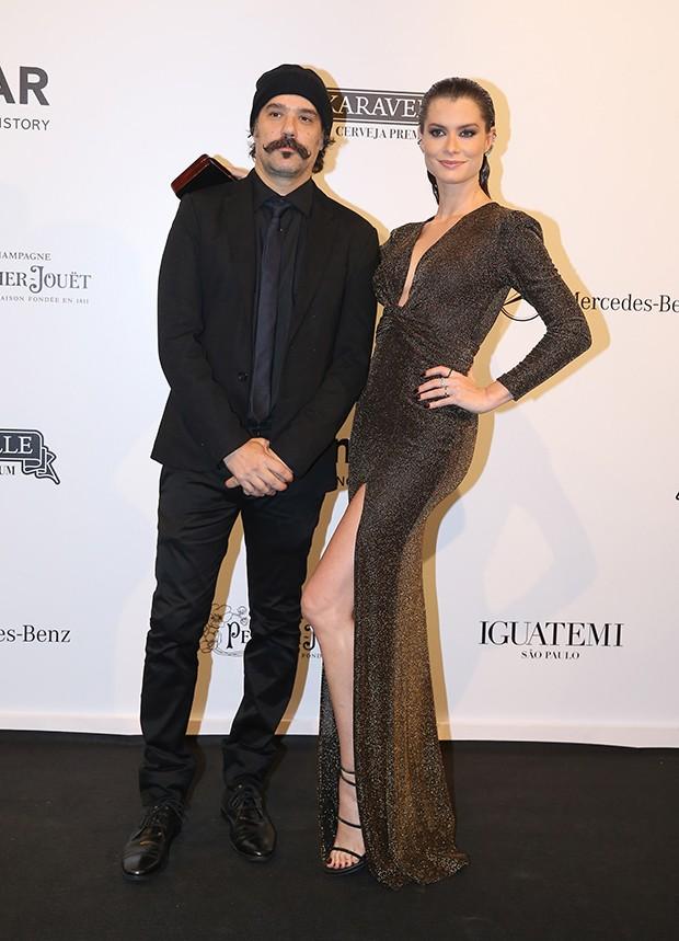 Alinne Moraes e Mauro Lima (Foto: Manuela Scarpa e Iwi Onodera/Brazil News)