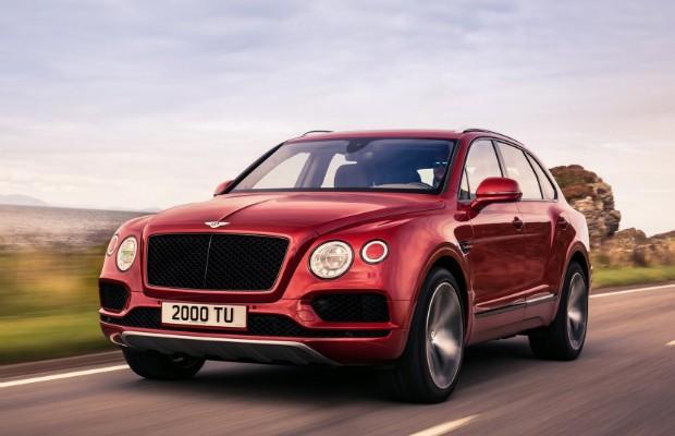 Bentley Bentayga, o primeiro SUV da marca comprado pela rainha no lançamento (Foto: Divulgação)
