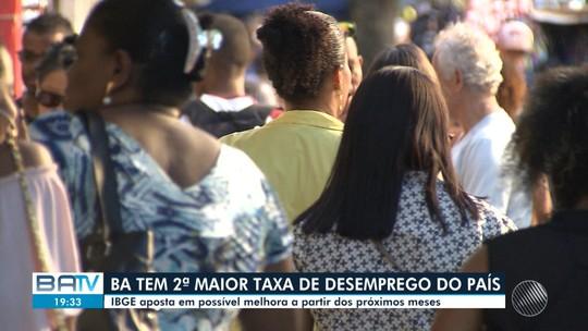 Bahia teve o 2º maior índice de desocupação do país no 1º trimestre de 2019, aponta o IBGE