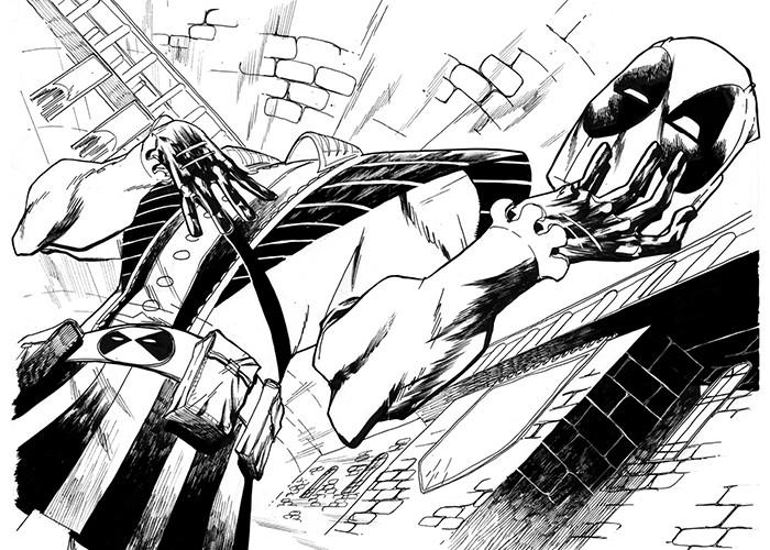 Ilustração do Deadpool (Foto: Divulgação)