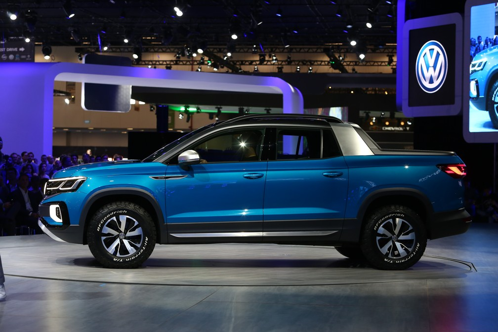Volkswagen Tarok no Salão do Automóvel 2018 — Foto: Marcelo Brandt/G1