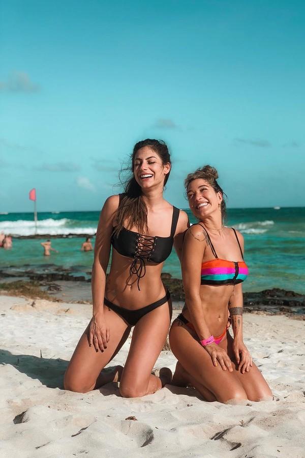 Mari Gonzalez e Gabriela Pugliesi  em foto no Instagram (Foto: reprodução/instagram)
