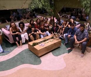 'Big Brother Brasil' na noite do paredão entre Gizelly, Guilherme e Pyong | Reprodução