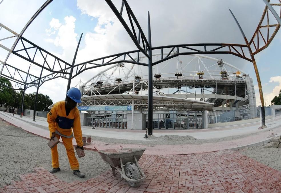 Estádio ficou mais de dois anos fechado para obras (Foto: André Durão)