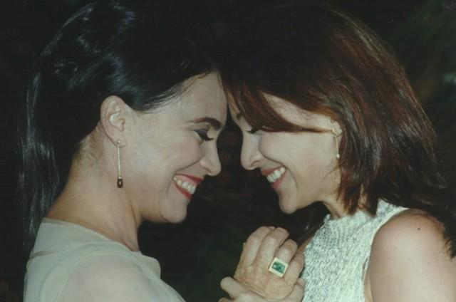 Regina e Gabriela Duarte em 'Por amor' (Foto: TV Globo)