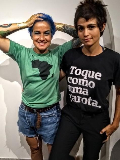 Nanda Costa e Lan Lanh (Foto: Cristina Granato)