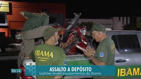 Equipamentos apreendidos em operação são furtados de depósito do Ibama em MT