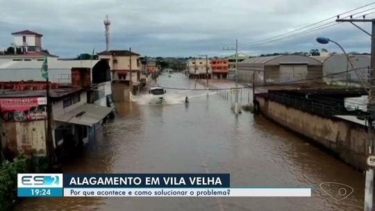 Especialistas explicam por que ocorrem os alagamentos em Vila Velha e mostram soluções