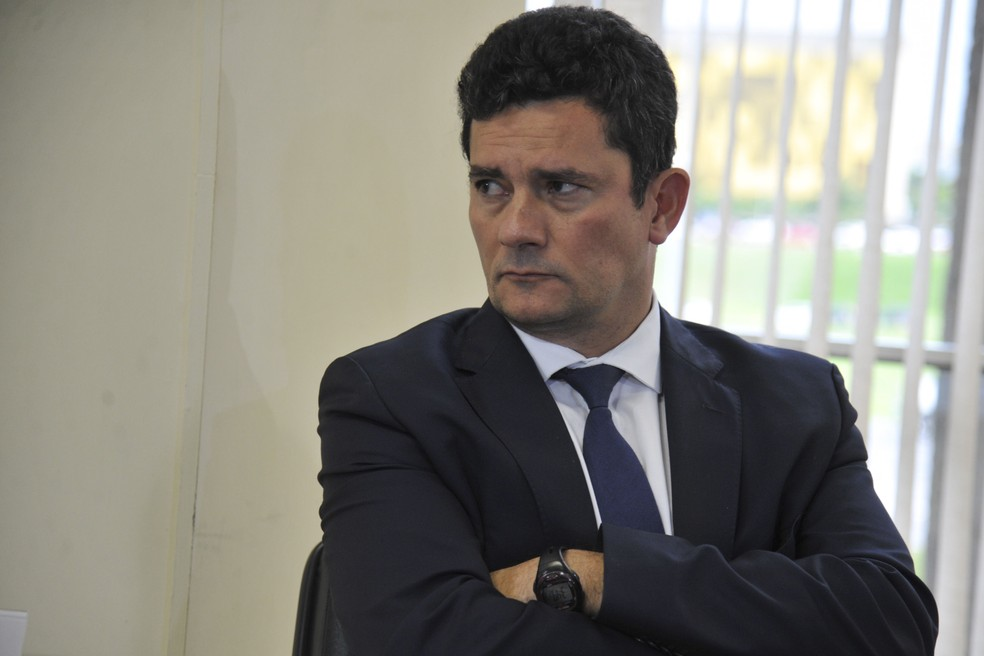 O ministro da Justiça, Sérgio Moro — Foto: Valter Campanato / Agência Brasil