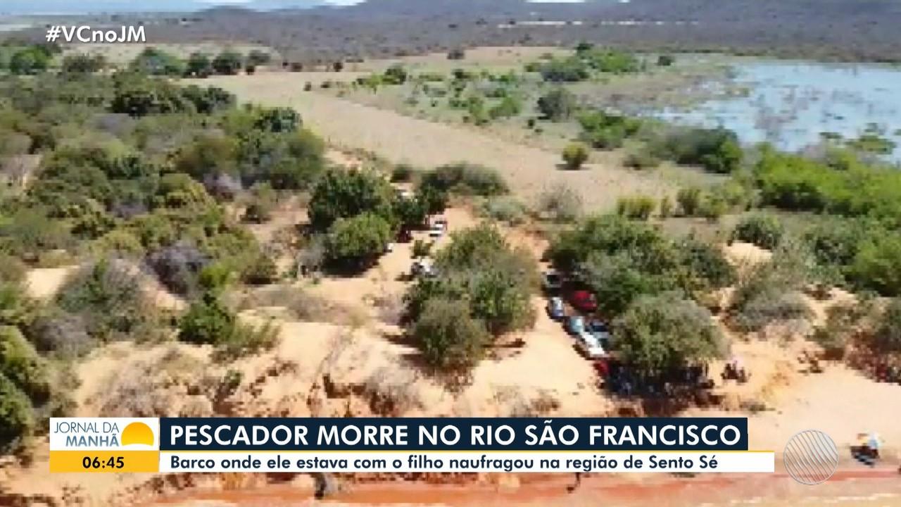 Pescador morre afogado no trecho do rio São Francisco, na cidade de Sento Sé
