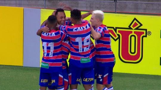 Os gols de Fortaleza 2 x 0 Brasil de Pelotas pela 11ª rodada da Série B 2018