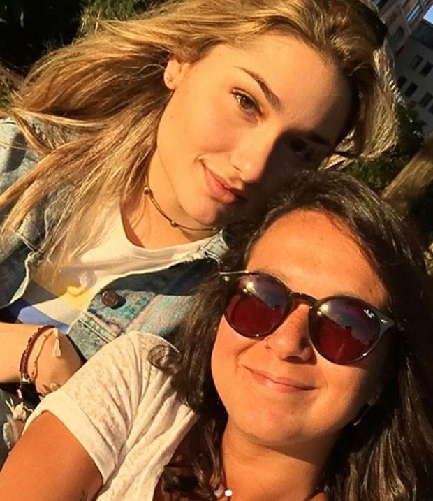 Sasha Meneghel e Bruna Moreira  (Foto: Reprodução/Instagram)