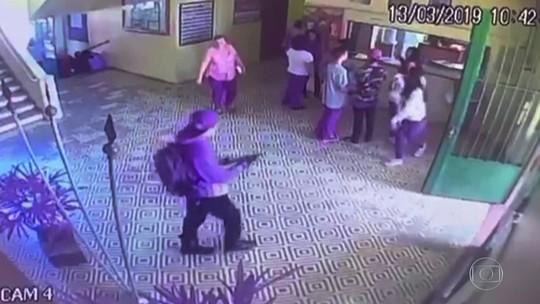 Entenda o passo a passo do ataque em escola de Suzano com imagens exclusivas