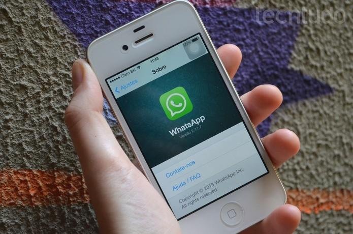 WhatsApp: encontre conversas com a busca no histórico de mensagens (Foto: Luciana Maline/TechTudo) (Foto: WhatsApp: encontre conversas com a busca no histórico de mensagens (Foto: Luciana Maline/TechTudo))
