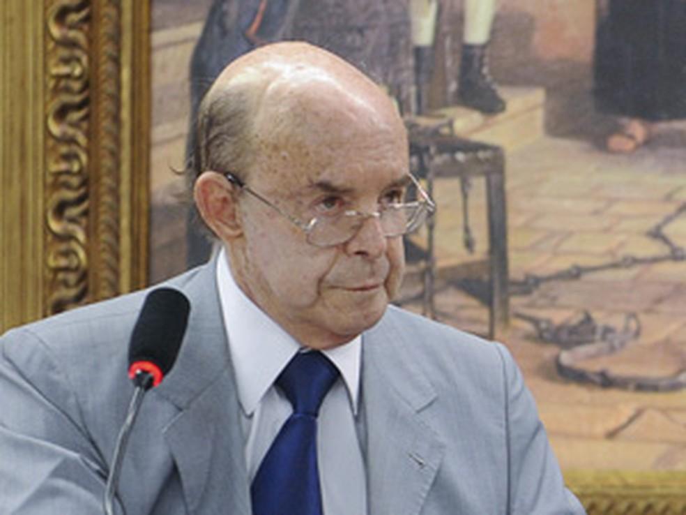 Senador Francisco Dornelles (RJ), presidente do PP — Foto: Wilson Dias/ABr