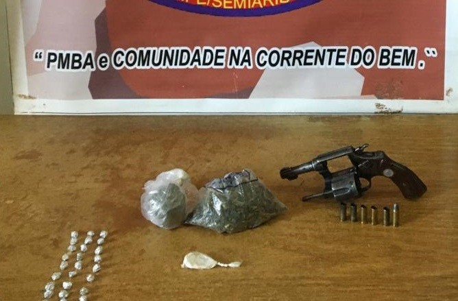 Suspeito de estupro, homicídio e tráfico de drogas é morto após confronto com a polícia na região da Chapada Diamantina