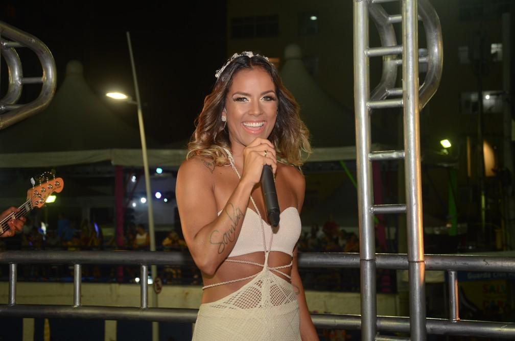 Ju Moraes na Barra (Foto: Francisco Carlos/Ag Haack)