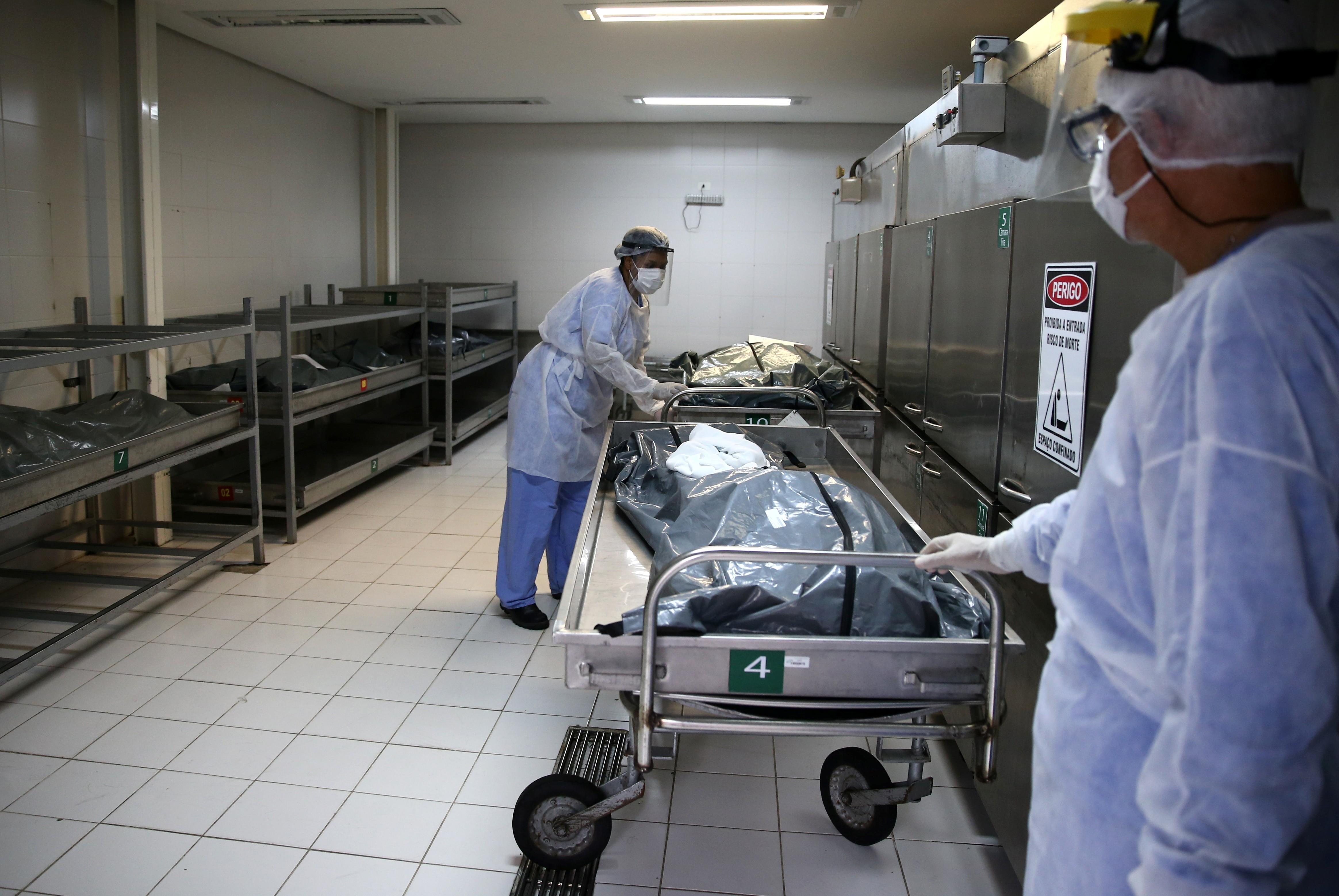 Instituto americano projeta dobro de mortes por Covid até julho caso RS não tome medidas adequadas