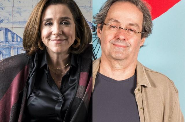 Marisa Orth e Daniel Dantas (Foto: TV Globo)