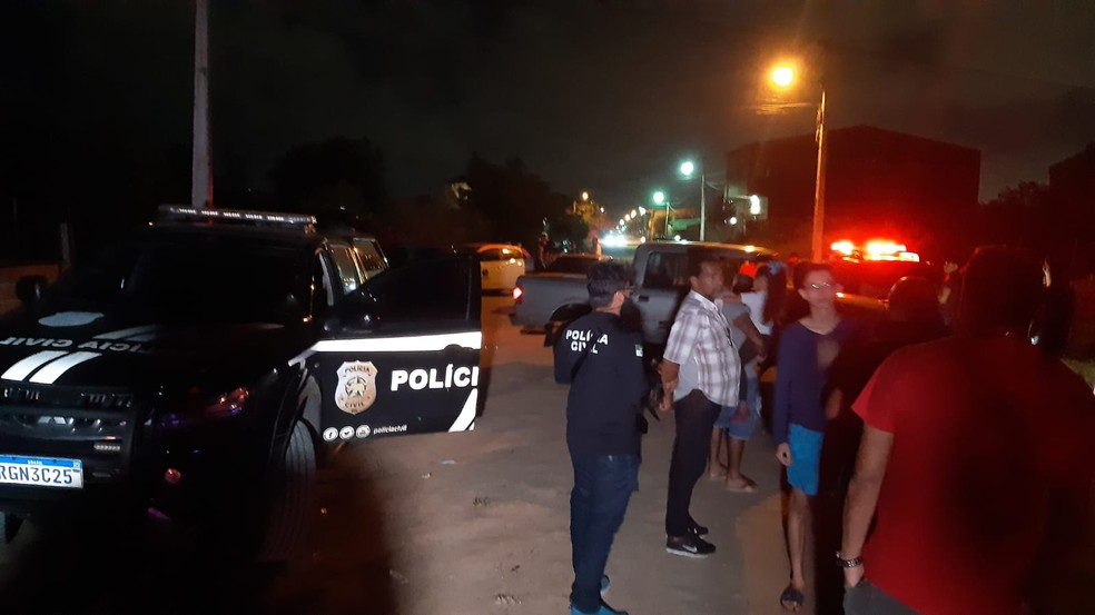Menino de 12 anos morre atropelado por caminhão na Zona Norte de Natal — Foto: Sérgio Henrique Santos/Inter TV Cabugi