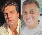 Luan Santana e Luciano Huck   Reprodução