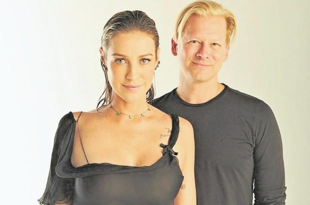 Luana Piovani e Marcello Coltro, executivo da NBC  (Foto: Divulgação)