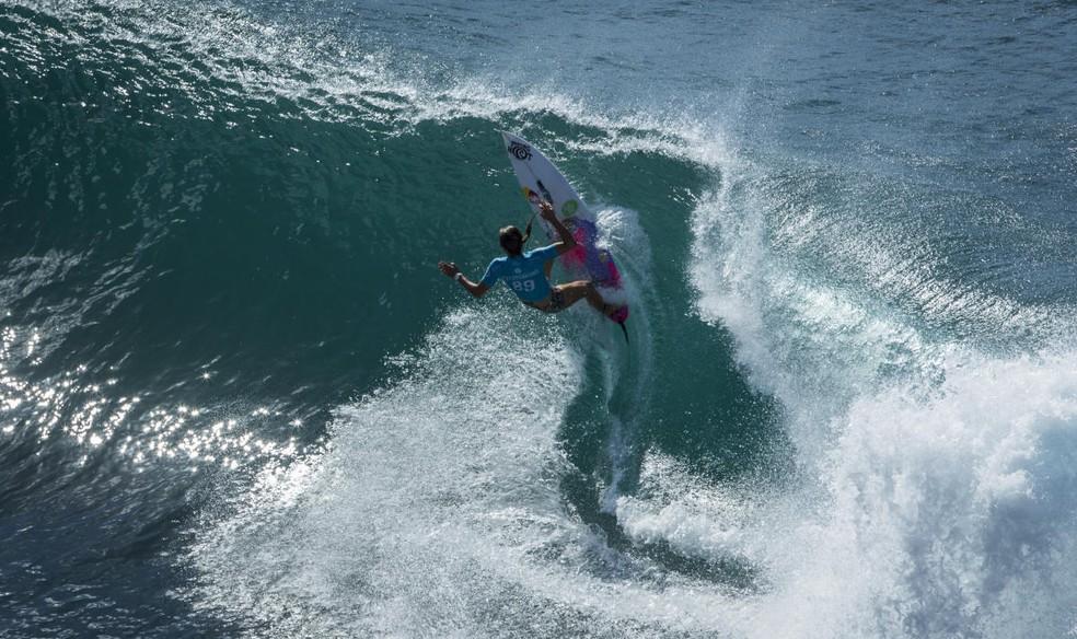 Líder do ranking mundial, Sally Fitzgibbons tentará em Maui o seu primeiro caneco  (Foto: WSL)