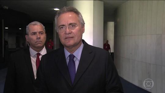 Renan Calheiros é denunciado  por corrupção e lavagem de dinheiro