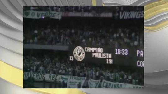 Título paulista do Palmeiras de 1993 completa 25 anos nesta terça